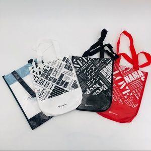 Bundle Lululemon Tote Bag with Button Closure